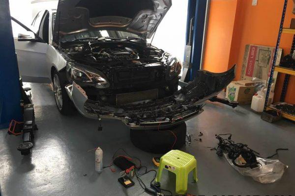 gforce garage - Car Service Centre - Bukit Raja - Setia Alam - klang - shah alam - Mercedes-benz - Audi - BMW - car specialist - workshop - repair (1)